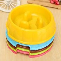 Home | 5 colors to choose pet dogs and cats feeding bowl water dog feed food pet bowl thick fine