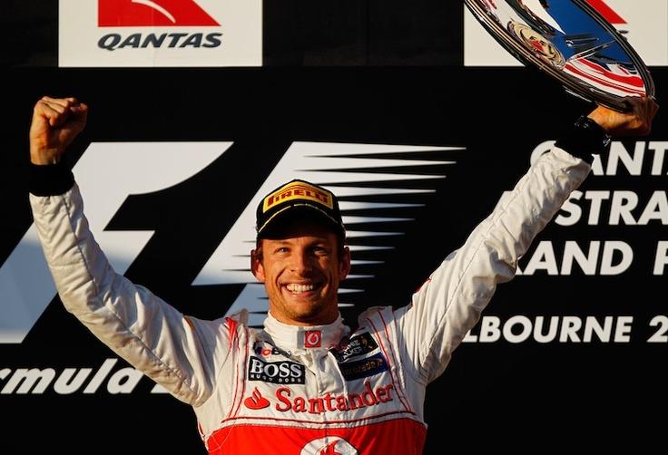 Jenson Button wins Australian 2012