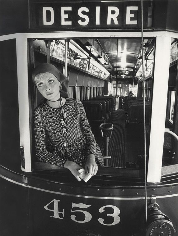 Jan Ward in a Streetcar named Desire, New Orleans, United States, January 1971