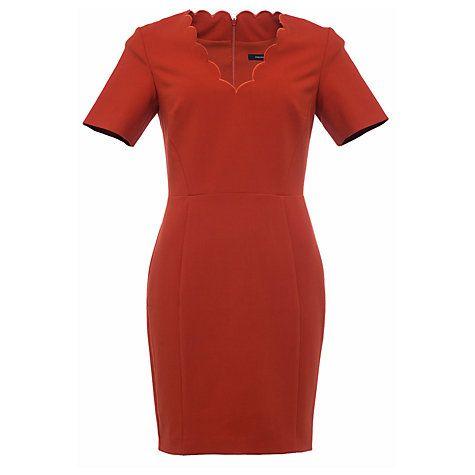 Buy French Connection Whisper V Neck Dress Online at johnlewis.com