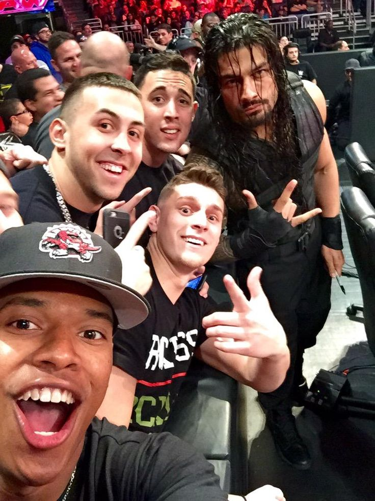 Marcus Stroman and Aaron Sanchez of the Toronto Blue Jays at WWE Raw