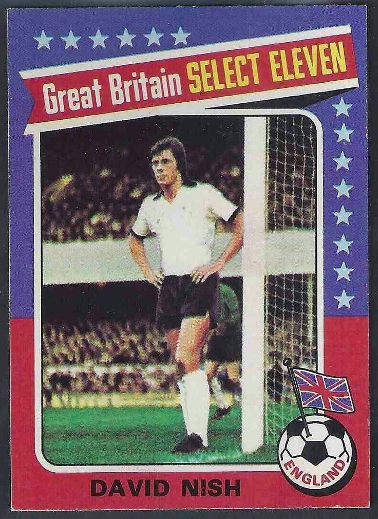 David Nish of Derby County in 1974.