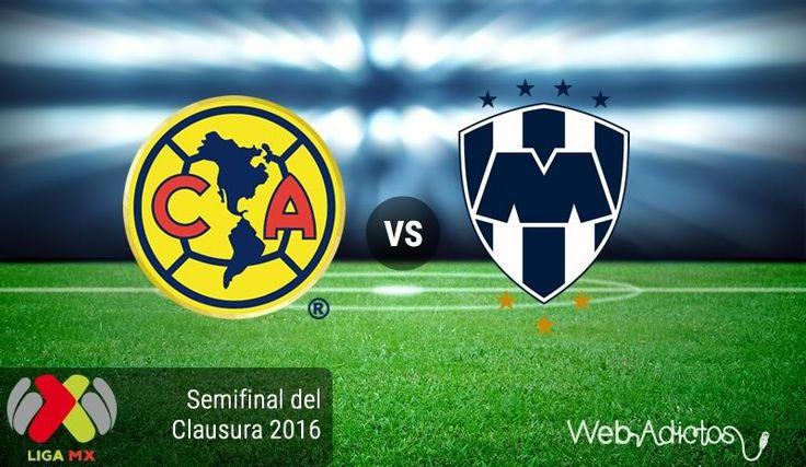 América vs Monterrey, Semifinal ida ¡En vivo por internet! | Clausura 2016 - https://webadictos.com/2016/05/18/america-vs-monterrey-semifinal-clausura-2016/?utm_source=PN&utm_medium=Pinterest&utm_campaign=PN%2Bposts