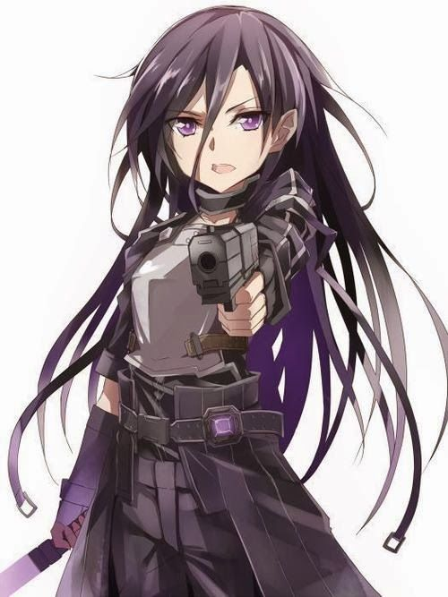 Asada, Sword Art Online II (Gun Gale Online) I love her so much.
