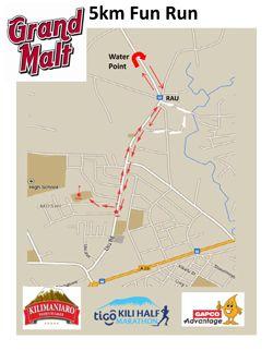 Kilimanjaro Marathon - Grand Malt 2017 Fun Run