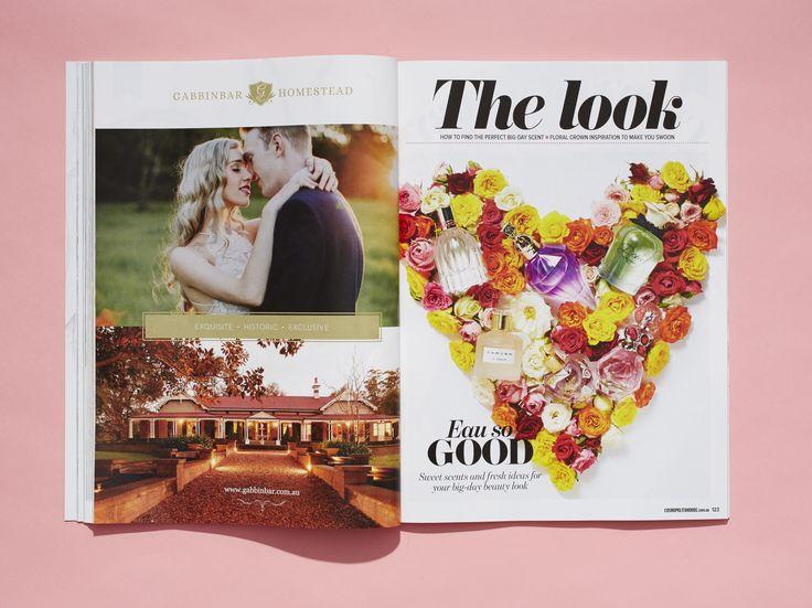 Cosmopolitan Bride, issue 39 www.cosmopolitanbride.com.au #flowers #love #wedding #cosmobride