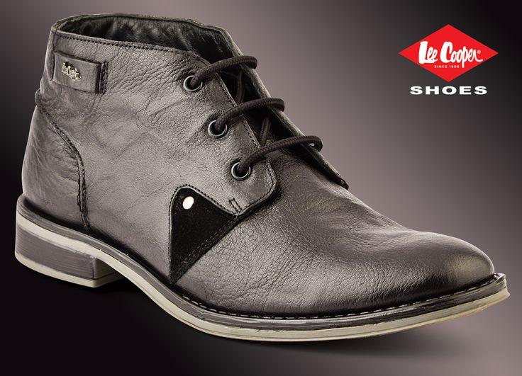 Lee Cooper men's boot. LC1650 Black #LeeCooper