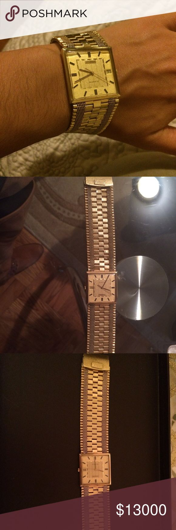 Gold watch all real gold vintage around 85gr gold Gold watch all real gold Aa Jewelry Bracelets