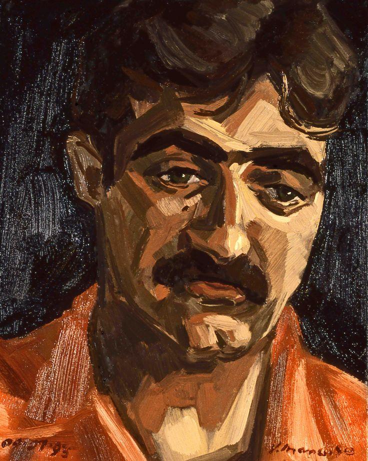 #Author Nino Ricci, #painted by Vince Mancuso