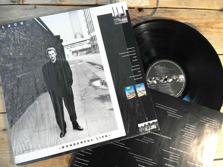 BLACK WONDERFULL LIFE LP 33T VINYLE EX COVER EX