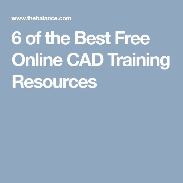 6 of the Best Free Online CAD Training Resources