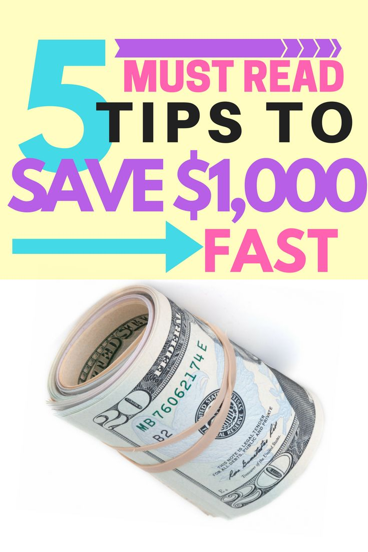 save money fast | money saving tips | how to start an emergency fund | save $1,000 | save money now | saving money quickly