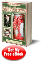 """""""10 Dollar Store Crafts for Christmas"""" eBook"""