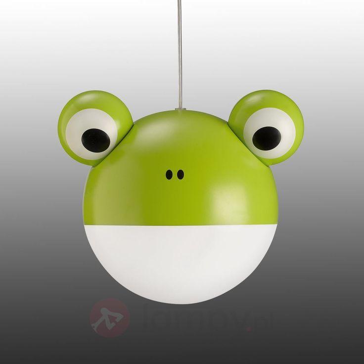 Zielona lampa wisząca ANORA 6502298