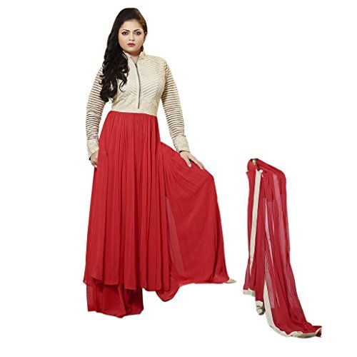 Ethnic Empire Designer Red georgette Embroidery Anarkali ... http://www.amazon.in/dp/B01MRY7W03/ref=cm_sw_r_pi_dp_x_fNnCyb0YB0HZ8