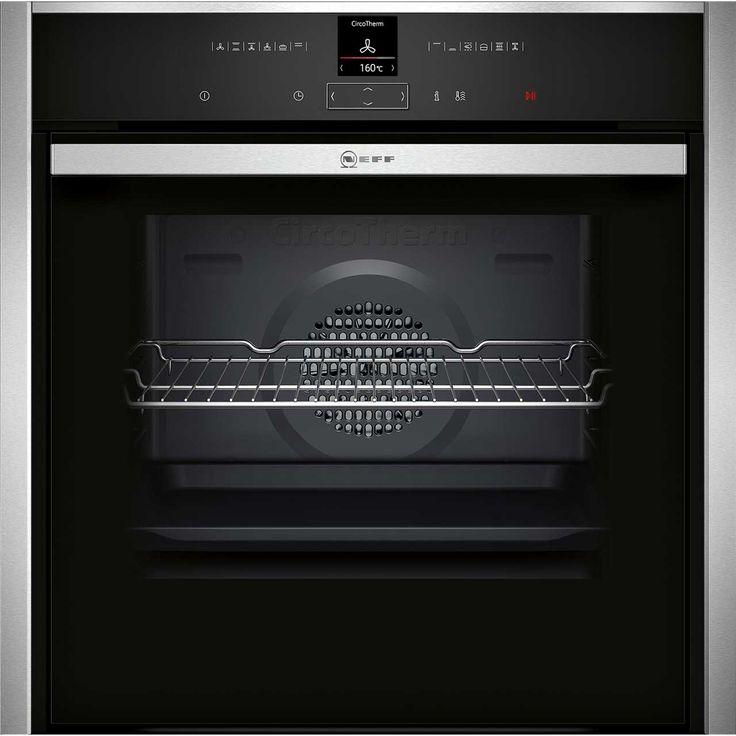 Neff Premium Built-In Electric Oven | B57CR22N0B | ao.com, pyrolitic, slide under door £797