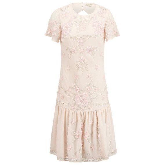 Cocktailkleid / festliches Kleid peach