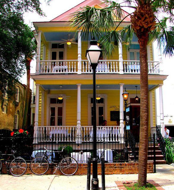 Poogans Porch, Charleston SC. Literally my favorite restaurant in the entire world. Best fried chicken, collards, and biscuits ever