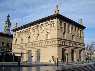 La Lonja de Zaragoza es un edificio civil de estilo renacentista construido en la primera mitad del siglo XVI en Zaragoza (1541-1551) como recinto destinado a actividades económicas. Hoy es sala de exposiciones del Ayuntamiento. El arquitecto o maestro de obras de La Lonja fue Juan de Sariñena, encargado de ello por iniciativa del Concejo de la ciudad y patrocinado por el arzobispo de la ciudad, Hernando de Aragón.