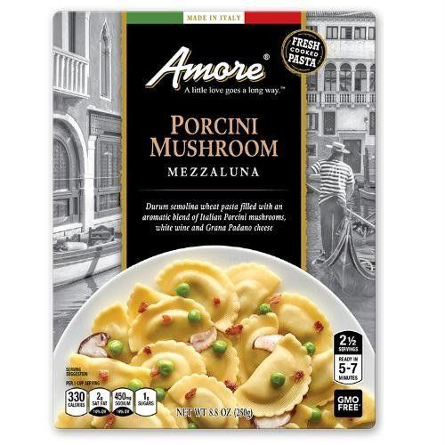 Amore Porcini Mushroom Mezzaluna (6x8.8 Oz)