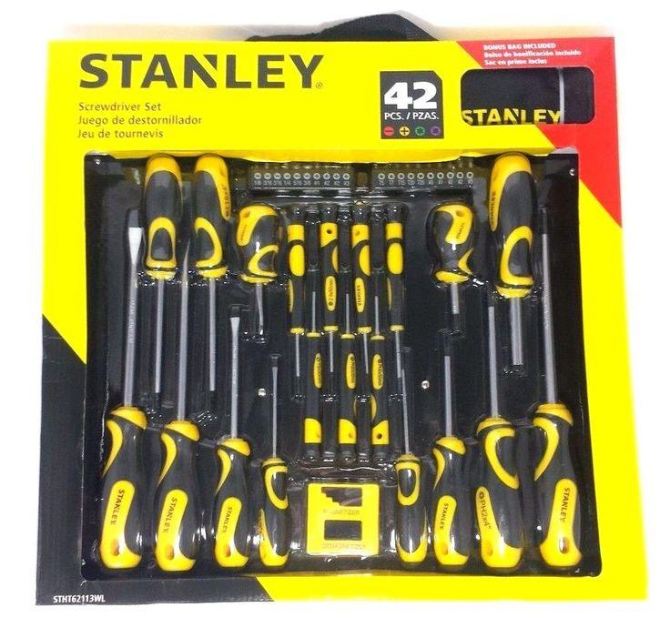 stanley screwdriver set 42 pcs stht0 62113 urban armor ebay and apple iphone. Black Bedroom Furniture Sets. Home Design Ideas