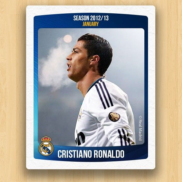Real Madrid Collections - Cristiano Ronaldo