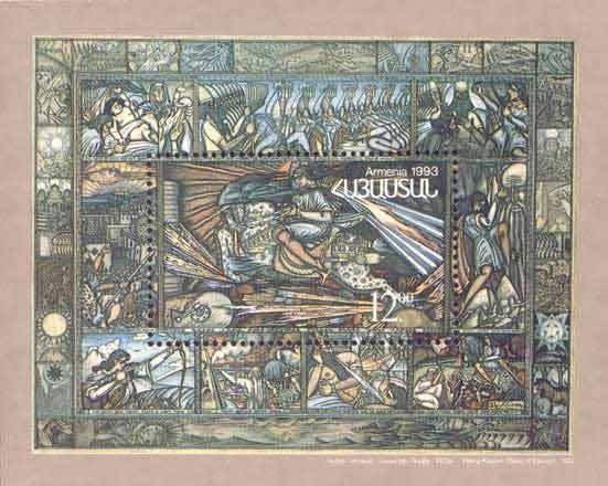 "Armenian Cultural History.Kodjoyan ""David Sasunsky"""