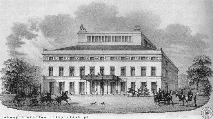 Wrocławska Opera w roku 1830.