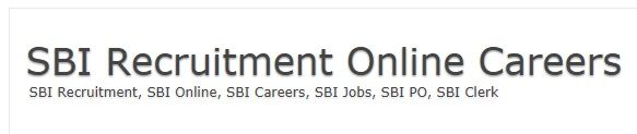 http://sbii.in/  SBI Recruitment, SBI Careers, SBI Online. Get all details about the State Bank of India Recruitment, Know everything about SBI PO, SBO Clerk Examination. Exact and accurate details on SBI Exam Dates, Syllabus, Admit Card, Result and more.