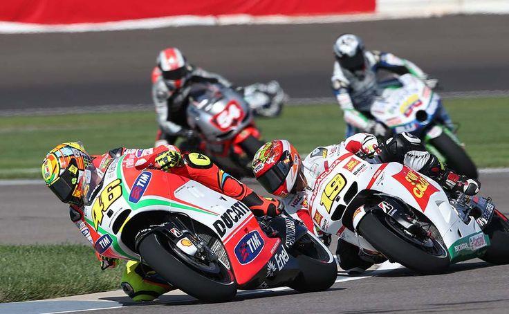 Indianapolis MotoGP 2012; Rossi, Bautista