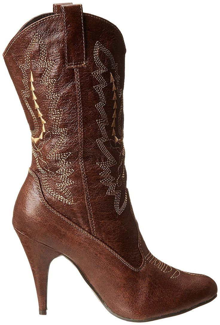 Women's 418-Cowgirl Western Boot | Mid