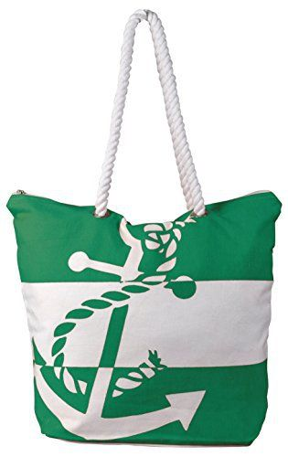 New Trending Tote Bags: Peach Couture Summer Fashion Chic Anchor Print Canvas Bags Beach Totes Handbags Green. Peach Couture Summer Fashion Chic Anchor Print Canvas Bags Beach Totes Handbags Green  Special Offer: $19.95  488 Reviews New Handbags Collection by Peach Couture. Peach Couture is a Registered Trademark. FEATURES: This Bag Feature a cute Nautical Anchor Print Perfect for a trip to the...