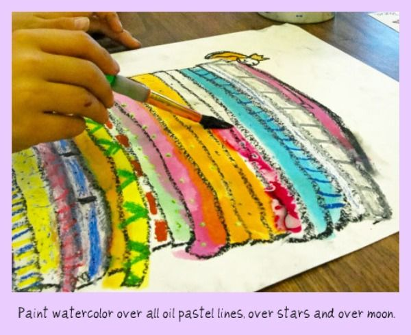 """Princess and the Pea"" tell the story and make the art (K - 1st) Links to other ideas."