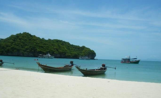 Somewhere in Thailand. Off the coast of Koh Samui. Amazing place to relax and get back to nature