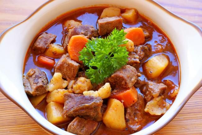Hungary - food and drink - Gulyas (soup)