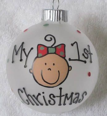 20 Cutest First Christmas Ornaments on Etsy