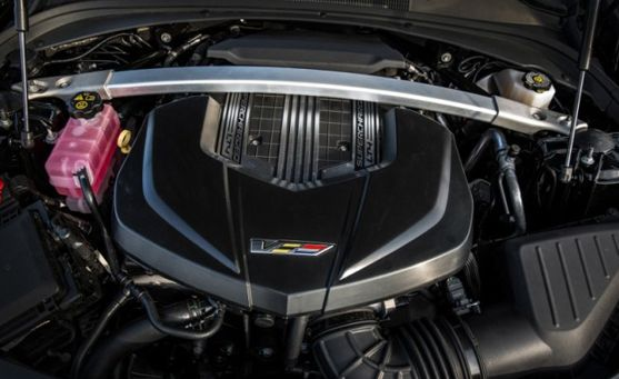 2017 Cadillac CTS-V Engine