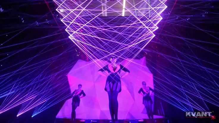 Watch our laser light show from Frankfurt at Prolight+Sound. 56 lasers and a special motion controller were used. Enjoy!