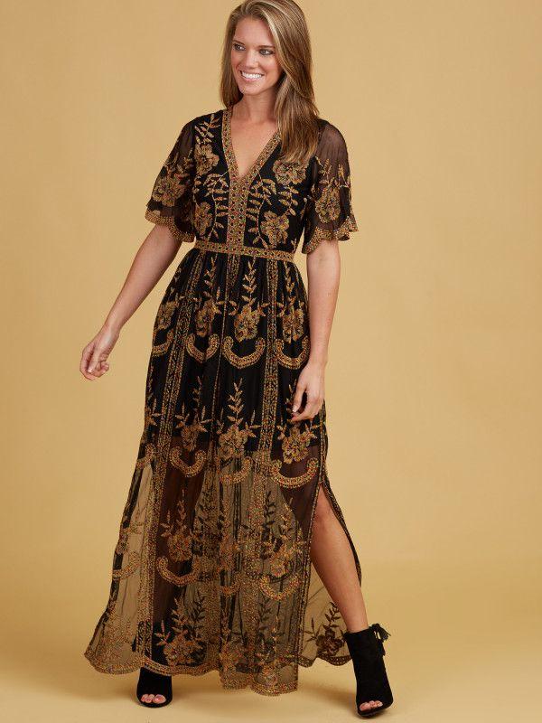 f46a6a7770 Leadore Maxi Dress | Work Glam | Dresses, Fashion, Wedding ...