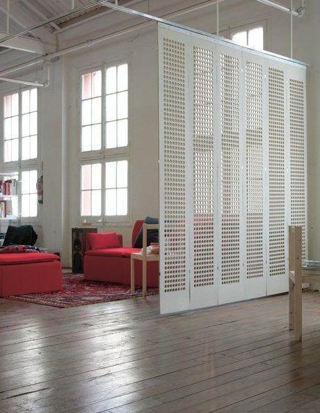 Las 25 mejores ideas sobre cortina separadora de ambientes - Estanteria separar ambientes ...