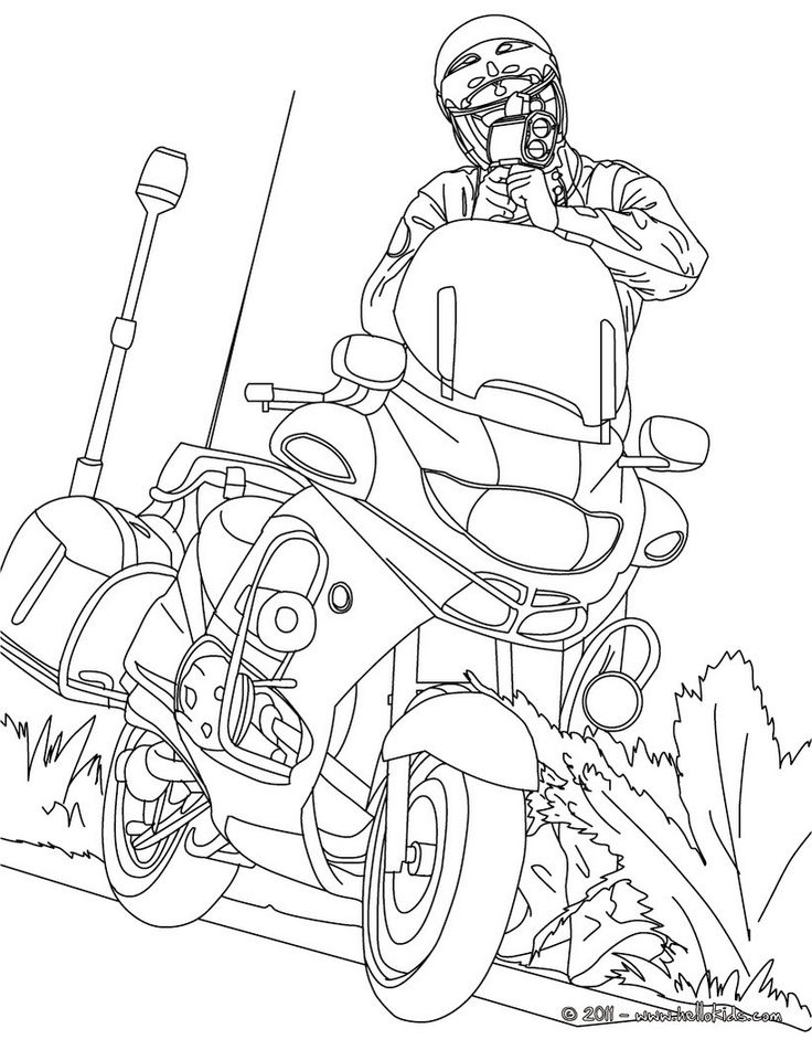 25 best images about Coloring Pages (Police) on Pinterest ...