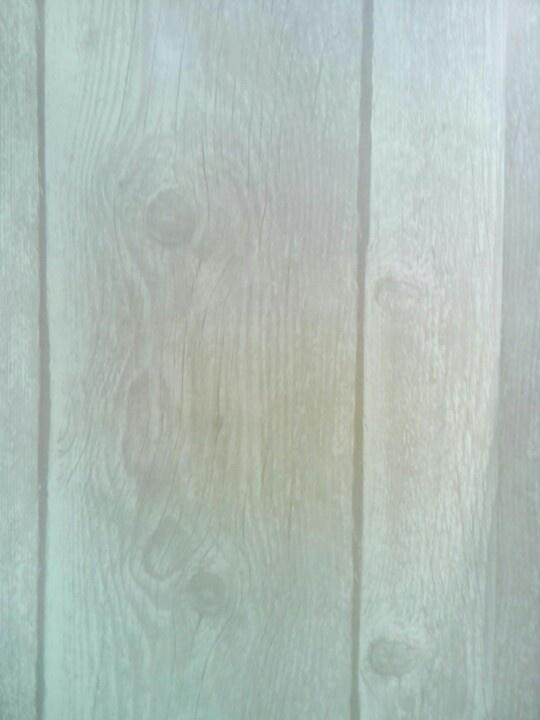 Behang, houten planken, naturel