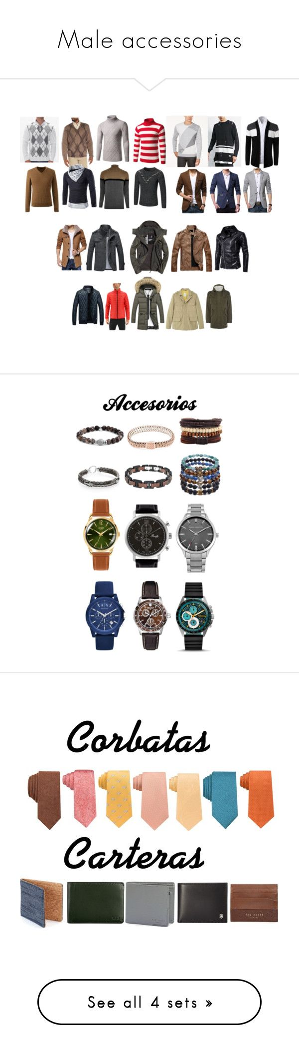 """Male accessories"" by belen-cool-look ❤ liked on Polyvore featuring 21 Men, Raffi, BKE, Lands' End, Alfani, River Island, Superdry, adidas, Jack & Jones and MANGO MAN"