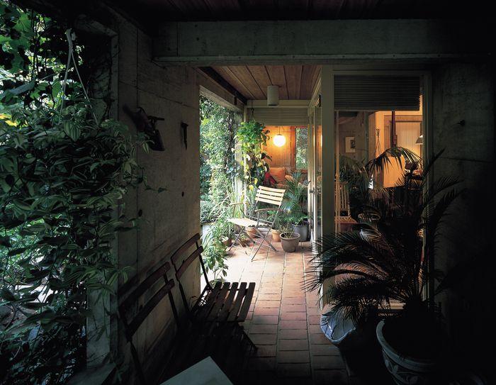 「私の家」阿部勤・自邸 : 建築_空間