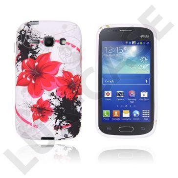 Symphony (Rød Blomst) Samsung Galaxy Ace 3 Deksel