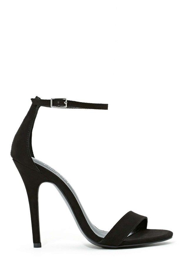 Shoe Cult Adore Sandals // strappy black heels