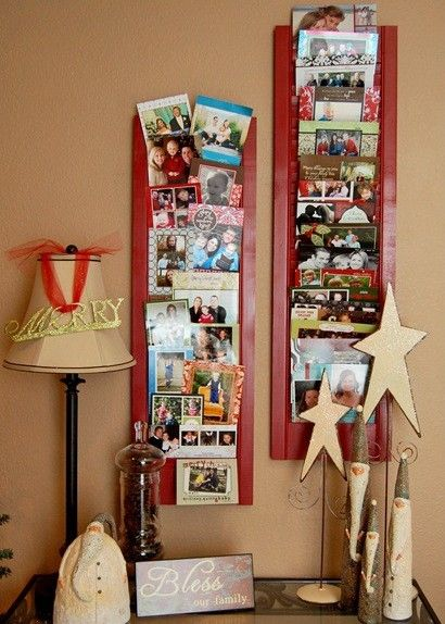 15 Creative ways to display Christmas cards from e…
