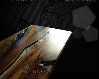 Mazel mesa de resina epoxi con muebles de mazel epoxi, borde vivo, mesa de río epoxi, mesa única de losa, mesa de centro de resina, firnuture especial personalizado