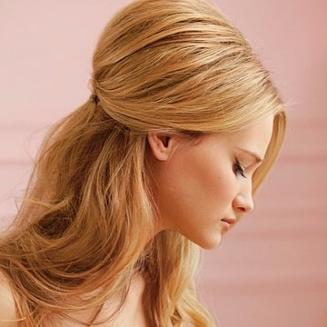 Fabulous 1000 Ideas About Straight Wedding Hair On Pinterest Half Up Short Hairstyles Gunalazisus