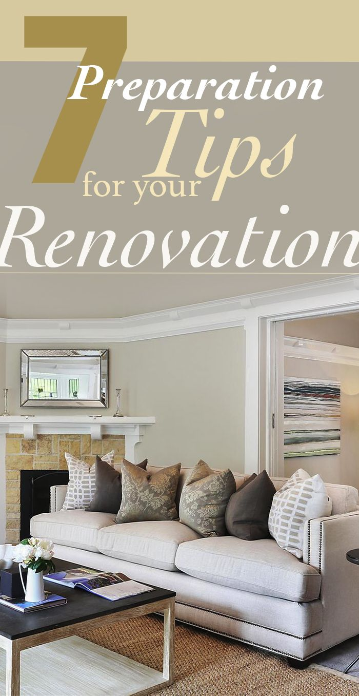 '7 Renovation Tips for Your Renovation' For more renovation tips & ideas from Smith & Sons, follow us! www.smith-sons.com.au